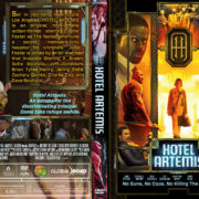Hotel Artemis (2018) R1 Custom DVD Cover