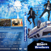 The Blues Brothers (1980) R1 Custom DVD Cover & Labels