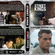 Street Kings Double Feature (2011-2011) R1 Custom Blu-Ray Cover