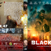 Black '47 (2018) R1 Custom DVD Cover