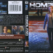 Homeland: The Complete Sixth Season (2017) R1 Blu-Ray Cover & Labels