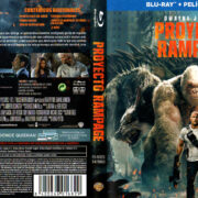 Proyecto Rampage (2018) Spanish Blu-Ray Cover