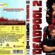 Deadpool 2 (2018) Spanish Blu-Ray Cover