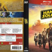 Han Solo Una Historia De Star Wars (2018) Spanish Blu-Ray Cover