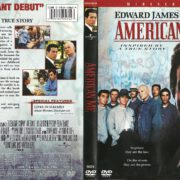 American Me (1992) R1 DVD Cover & Label