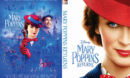 Mary Poppins Returns (2018) R0 Custom DVD Cover