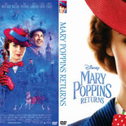 Mary Poppins Returns (2018) R0 Custom DVD Cover