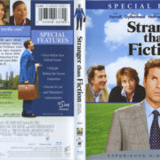 Stranger Than Fiction (2006) R1 Blu-Ray Cover & Label