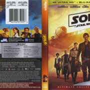 Solo: A Star Wars Story (2018) R1 4K Blu-Ray Cover & Labels