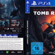 Shadow of the Tomb Raider (2018) German PS4 Cover & Label