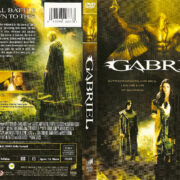 Gabriel (2007) R1 DVD Cover & Label