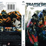 Transformers: Dark Of The Moon (2011) R1 DVD Cover