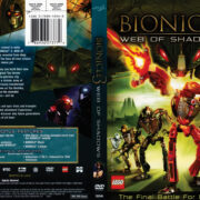 Bionicle 3: Web of Shadows (2005) R1 DVD Cover