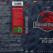 Jurassic Park III (2001) WS R1 DVD Cover