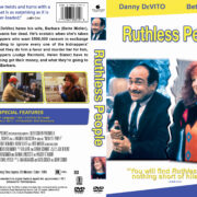 Ruthless People (1986) R1 Custom DVD Cover & Label