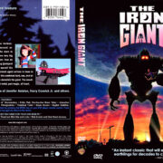 The Iron Giant (1999) R1 DVD Cover & Label