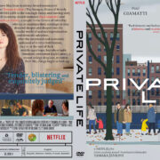 Private Life (2018) R1 Custom DVD Cover