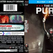 The First Purge (2018) Blu-Ray Cover