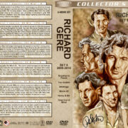Richard Gere Film Collection - Set 8 (2009-2014) R1 Custom DVD Covers