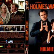 Holmes & Watson (2018) R1 CUSTOM DVD Cover & Label