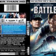 Battleship (2011) R1 4K UHD Blu-Ray Cover
