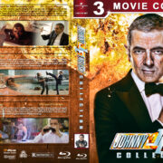 Johnny English Collection (2003-2018) R1 Custom Blu-Ray Cover