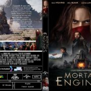 Mortal Engines (2018) R1 CUSTOM DVD Cover & Label