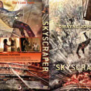 Skyscraper (2018) R1 Custom DVD Cover & Label V3