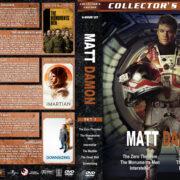 Matt Damon Collection – Set 5 (2013-2017) R1 Custom DVD Covers