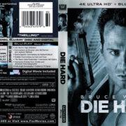 Die Hard (1988) R1 4K UHD Blu-Ray Cover