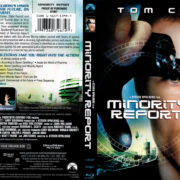 Minority Report (2001) R1 Blu-Ray Cover