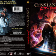 Constantine: City of Demons (2018) R1 Custom DVD Cover