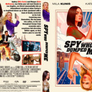 The Spy Who Dumped Me (2018) R1 Custom DVD Cover V2