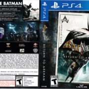 Batman Return to Arkham (2016) PS4 Cover
