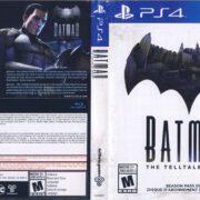 Batman the Telltale Series (2016) PS4 Cover