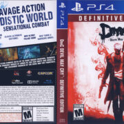 DMC Devil May Cry Definitive Edition NTSC (2015) PS4 Cover