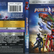 Power Rangers (2017) 4K UHD Cover & Labels