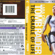 Lara Croft – Tomb Raider: The Cradle Of Life (2003) 4K UHD Cover & Labels