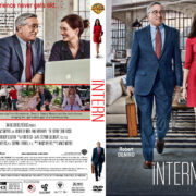 The Intern (2015) R1 Custom DVD Cover & Label