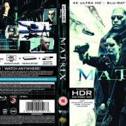 The Matrix (1999) R2 4K UHD Cover