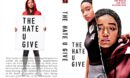The Hate U Give (2018) R0 Custom DVD Cover
