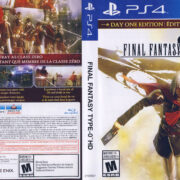 Final Fantasy Type-0 HD NTSC (2015) PS4 Cover