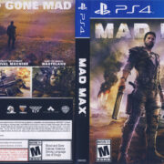 Mad Max NTSC (2015) PS4 Cover