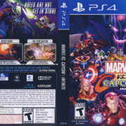 Marvel vs Capcom Infinite NTSC (2017) PS4 Cover