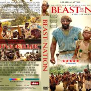 Beasts Of No Nation (2015) R1 CUSTOM DVD Cover