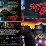 Summer Of 84 (2018) R1 CUSTOM DVD Cover & Label
