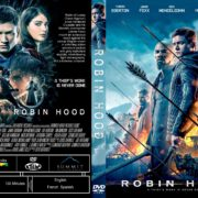Robin Hood (2018) R1 CUSTOM DVD Cover & Label