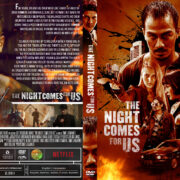 The Night Comes for Us (2018) R1 Custom DVD Cover