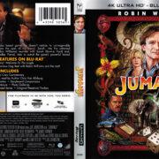 Jumanji (1995) R1 4K UHD Cover