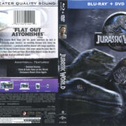Jurassic World (2014) R1 Blu-Ray Cover & Labels